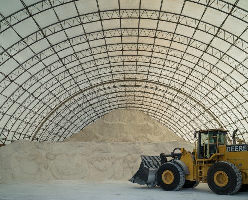 Agribusiness That Carries De-Icing Salt!