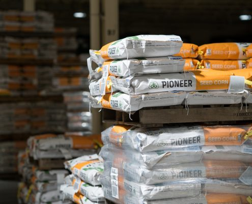 Pioneer Seed In Our Warehouse