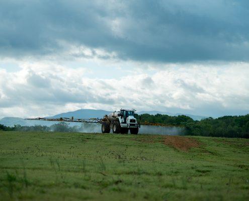 Comprehensive Crop Management Accounts For Fertilizer Spreading.