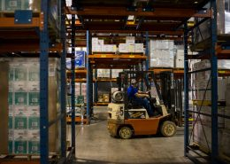 We Warehouse Products For Third Party Logistics