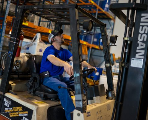 We Have Qualified Warehousing Professionals